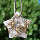 Pendant Star Orgone - - EMF protection - Energy Healing - Positive Energy Necklace