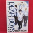 Dear Boys The Early Days Manga Japanese / YAGAMI Hiroki