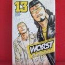 Worst #13 Manga Japanese / TAKAHASHI Hiroshi