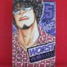 Worst #5 Manga Japanese / TAKAHASHI Hiroshi