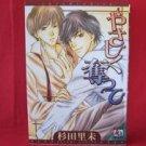 Yasashiku Ubatte YAOI Manga Japanese / Satomi Sugita