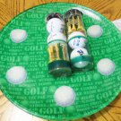 TOPFLITE 2/3 GOLF BALLS XL/TEES WITH COLLECTOR'S PLATE GREAT FOR THE GOLF FANS