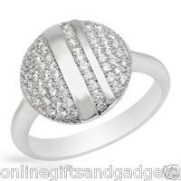 Superb Brand New Ring With Cubic zirconia Crafted in 925 Sterling