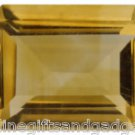 1.10ct  Brazilian Citrine Emerald Cut Gemstone
