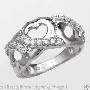 Irresistible Brand New Ring With 1.00ctw Cubic zirconia