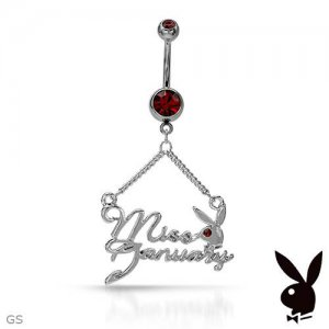 PLAYBOY Exquisite Brand New Body Ring With Genuine Crystals
