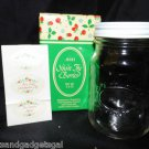 VINTAGE 1984 AVON CANNING GLASS MASON STYLE JAR WITH ORIGINAL BOX
