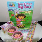 LOT #3 DORA THE EXPLORER KID ITEMS -  ALL BRAND NEW!