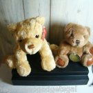 TWO GENUINE GUND BEARS