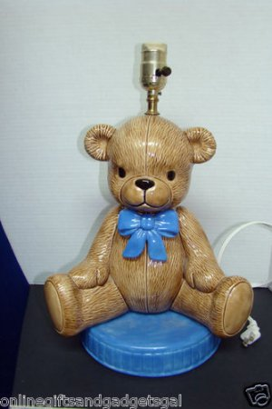 ADORABLE BEAR LAMP VINTAGE