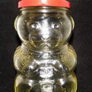 1984 KRAFT BEAR THEMED JAM/PEANUT BUTTER/HONEY JAR WITH LID