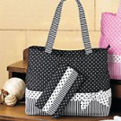 Black Tote And Wallet Set - BRAND NEW