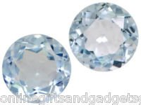 Matched Pair of Brazilian Sky Blue Topaz - 1.50 CTW