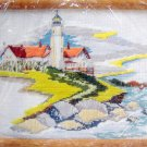 CC Counted Cross Stitch ++ Stitchery Kit ~ LIGHTHOUSE POINT ~  8X10