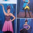 Dance Tops & Skirts SALSA SWING HIP HOP Costume Pattern sz 6-10 UNCUT