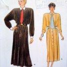 9131 Vogue Button Front Dress Pattern sz14-18 UC
