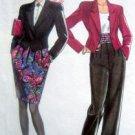 6161 NL Ladies Skirt Shortie Jacket & Cummerbund Pattern UNCUT  sz 8-18