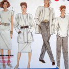 3414 Ladies Easy Wardrobe Jacket sSkirt Pants Pattern sz 20 UNCUT