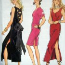6150 SIDE SLIT &  LACED BACK Ladies DRESS Pattern sz 6-16 UNCUT
