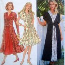 9046 Ladies Flared Laced Front Dress  Pattern - size 6-10 - 1994 UNCUT