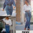 2372 Vogue DONNA KARAN Skirt Pants Denim  Pattern UNCUT sz 6-10 - 1989