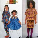 7014 SHANTI Girls Dress Skirt Pants Pattern size 3-6  UNCUT - 1996