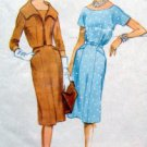 Vintage 5287 Ladies Dress & Shortie Jacket Pattern sz 12/32  UNCUT - 1959