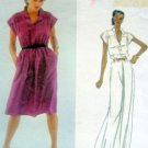 Vintage 2456 Vogue Dress VON FURSTENBERG Pattern sz 8 UNCUT