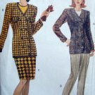 8236 Vogue Ladies Jacket Skirt Pants Pattern sz18-22 UNCUT
