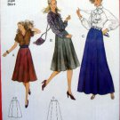 "8855 Burda Ladies "" Super Easy ""  Skirts  Pattern sz 10-20 UNCUT"