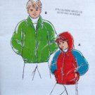 2365 Kwik Girls & Boys Fleece Jackets Pattern sz 8-14 UNCUT - 1994