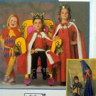 9236 Medieval COURT JESTER KING QUEEN Costume Pattern child 2-12 UNCUT