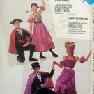 5072 Couples SPANISH DANCERS BULLFIGHTER  Costume Pattern Adult  Kids UNCUT