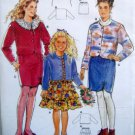4486 Burda Girls Skirts & Jackets Pattern 8-16 UNCUT