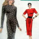 7000 Vogue Ladies Fitted Straight Dress PATTERN sz12-16 UNCUT -1987