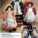 7230 Heirloom Dolls PATTERN Michelle Hains  - UNCUT - 1994