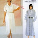 1126 Vogue JOHN ANTHONY  Front Button Dress  Pattern sz 8-12 UNCUT -