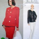1308 Vogue BILL BLASS Jacket Skirt Pattern sz12-16 UNCUT - 1994