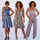 7782 Burda Ladies Dress Top  Pattern sz 8-20 UNCUT
