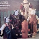 "5790 Cats Meow CAT DOLLS & CLOTHES Pattern 21"" UNCUT - 1992"