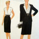 Vintage 8621 VOGUE Classic Jacket Skirt & Blouse Pattern sz 14 UNCUT