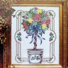 Heirloom Treasures Cross Stitch Kit ~ TOPIARY ~  11X14 - Lois Thompson 1993