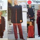 1517 Vogue Wardrobe Jacket Tunic Camisole Skirt Pants  Pattern sz 6-10 UNCUT