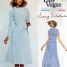 1816 VOGUE American Designer JERRY SILVERMAN Dress Pattern sz 14 UNCUT
