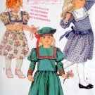 8818 Lillian August Dropped Waist Dress & Hat Pattern sz 5 UNCUT - 1988