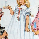 5080 Toddler Girls Pajamas Nightgown & Duster Cap Pattern  sz 2