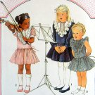 6660 Adorable Cinderella Dropped Waist Girls Dress Pattern  sz 6 UNCUT - 1984