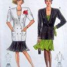 5365 Burda Jacket  & Full Skirt Pattern size10-18  UNCUT