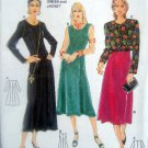 3882 Burda Dress & Jacket  Pattern size10-20  UNCUT