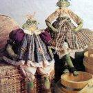 "9622 RIBBIT SISTERS  Frogs Pattern 22"" 17"" UNCUT - 1998"